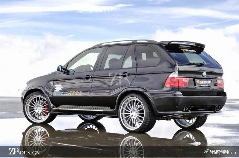 Bmw e53 x5 46is 48is rear bumper addon spoiler for all